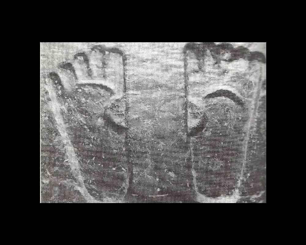 Empreintes de pied de Yuz Asaph, Rozabal