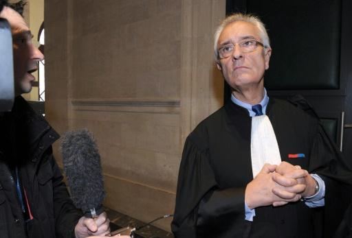 L'avocat Jean-Yves Le Borgne à Bordaux le 24 mars 2015 © MEHDI FEDOUACH AFP/Archives