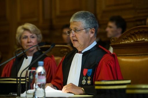 Le président du tribunal de grande instance de Paris Jean-Michel Hayat à Paris, le 9 septembre 2014 © FRED DUFOUR AFP/Archives