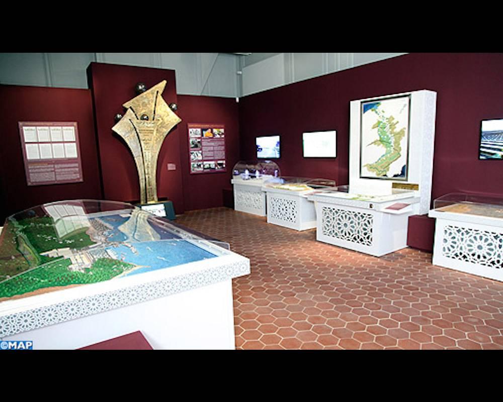 """Une vue de l'exposition """"Le Maroc à travers les âges"""". ©  MAP"""
