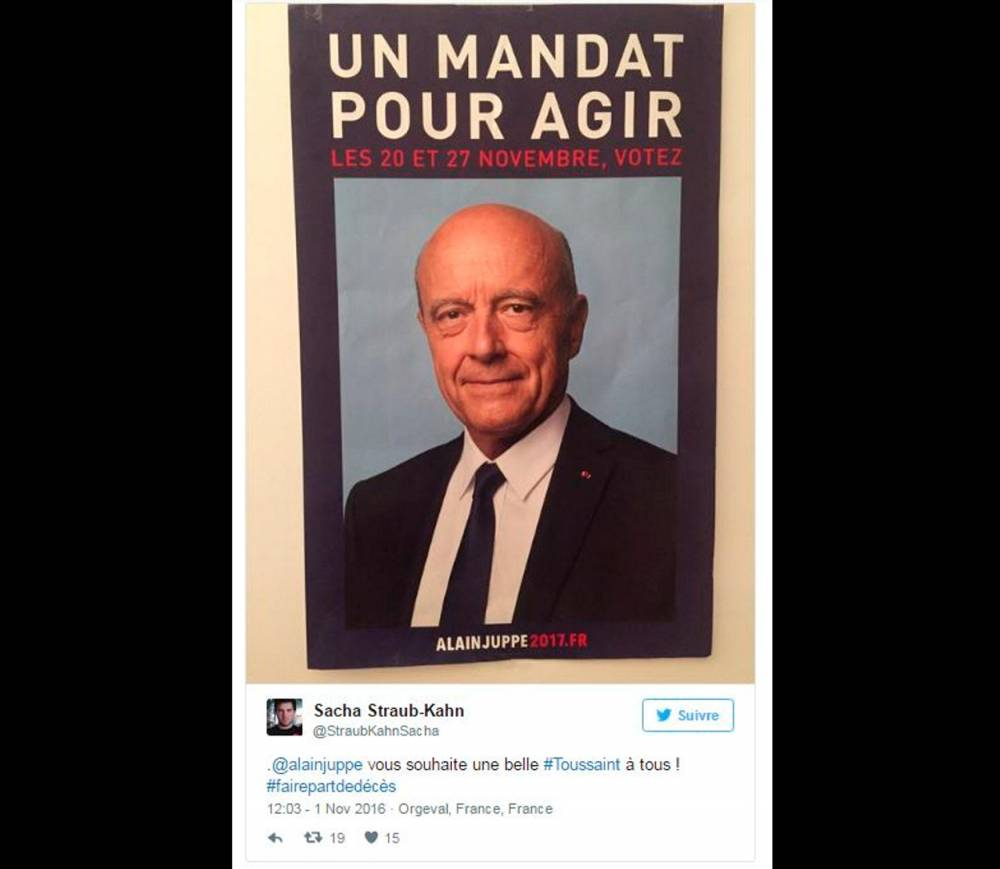 Le tweet du CM de Nicolas Sarkozy © Capture RTL/Twitter Capture RTL/Twitter