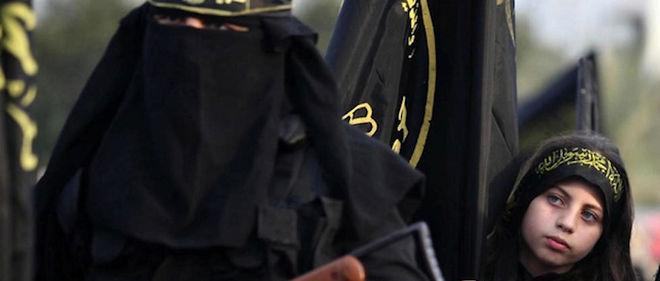 Capture d'écran d'un film de propagande de l'État islamique. Photo d'illustration.