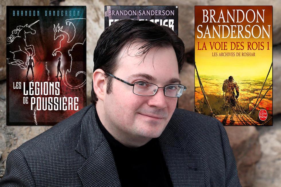 Brandon Sanderson L Auteur Du Prochain Seigneur Des Anneaux