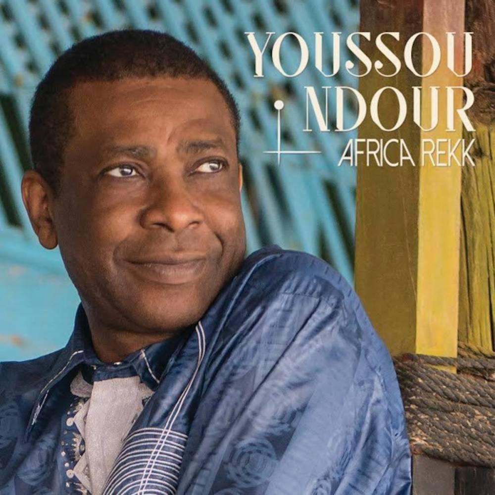 Pochette du nouvel album de Youssou N'Dour Africa Rekk.  ©  Sony music