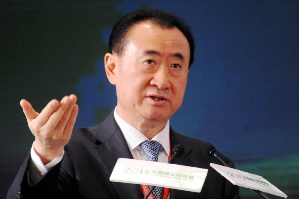 CHINA GREEN COMPANIES SUMMIT ©  AFP/Stringer