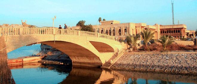 Le palais va accueilir des pièces venues des collections du musée de Bagdad.