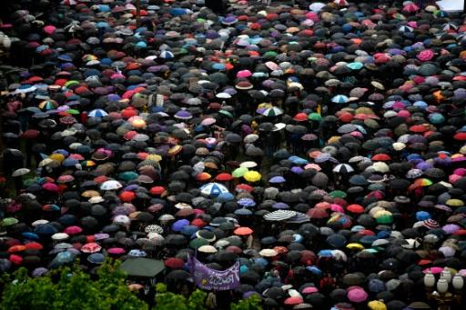 Manifestation contre les violences contre les femmes après le meurtre violent de Lucia Pérez, droguée, violée et torturée, à Buenos Aires le 19 octobre 2016 © EITAN ABRAMOVICH AFP/Archives