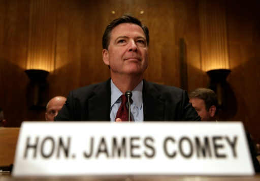 Le patron du FBI James Comey, le 27 septembre 2016 à Washington © YURI GRIPAS AFP/Archives