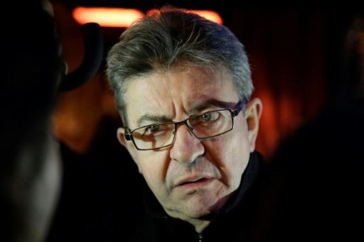 Jean-Luc Melenchon, le 5 novembre 2016 à Paris  © GEOFFROY VAN DER HASSELT AFP