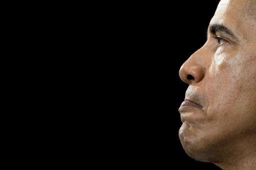 Le président américain Barack Obama à Fayetteville , en Caroline du Nord, le 4 novembre 2016 © JIM WATSON AFP