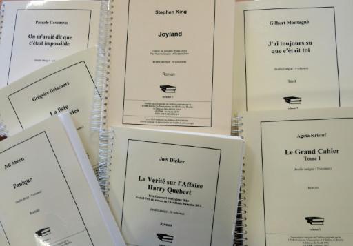 Des livres transcrits en braille pour des déficients visuels à Toulouse, en France, le 13 septembre 2016 © ERIC CABANIS AFP