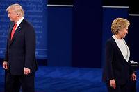 Jamais les clivages qui traversent la société n'ont été aussi nombreux et profonds qu'à la veille de l'élection qui doit départager Hillary Clinton et Donald Trump. ©ROBYN BECK