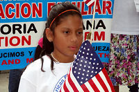 Traditionnellement plus proches de valeurs conservatrices, les Latinos se tournent vers le Parti démocrate depuis une dizaine d'années. Image d'illustration. ©JOSÉ LÓPEZ ZAMORANO