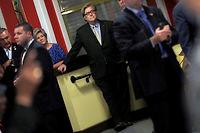 Stephen Bannon en septembre 2016. Issu de Harvard, puis passé par Goldman Sachs, il a rejoint le Tea Party avant d'être choisi par Donald Trump pour diriger sa campagne. ©© Mike Segar / Reuters