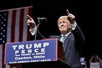 Donald Trump a promis un vaste programme de construction d'infrastructures. ©MANDEL NGAN