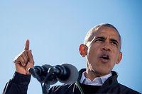Le bilan de Barack Obama, très spirituel dans ses discours, n'est pas très épais. ©JIM WATSON