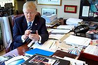 Mêmeprivé de Twitter par son équipe de campagne pour éviter tout dérapage dans la dernière ligne droite, Donald Trump, suivi par 13millions d'abonnés, l'a emporté. ©Josh Haner/The New York Times-REDUX-REA