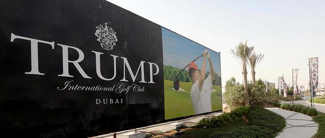 Le Trump International Golf Club de Dubai, aux Émirats arabes unis.