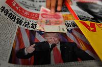 La Chine ne sait que penser de l'élection de Donald Trump à la présidence des États-Unis. ©GREG BAKER