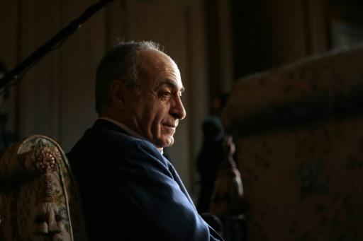 L'homme d'affaire franco-libanais Ziad Takieddine, le 12 avril 2013 à Paris © JACQUES DEMARTHON AFP