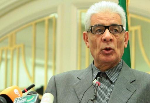 Le ministre libyen des Affaires étrangères Mousssa Moussa le 19 mars 2011 à Tripoli © MAHMUD TURKIA AFP/Archives