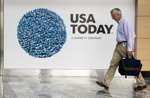 Le siège du quotidien USA Today à McLean en Virginie, le 20 août 2013 © PAUL J. RICHARDS AFP/Archives