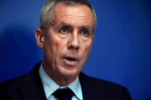 Le procureur de Paris François Molins lors d'une conférence de presse sur l'attentat déjoué de Paris, à Paris le 9 septembre 2016 © BERTRAND GUAY AFP
