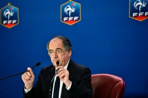 Le président de la FFF, Noël le Graët, lors d'une conférence de presse à Paris, le 12 juillet 2016 © ALAIN JOCARD AFP/Archives
