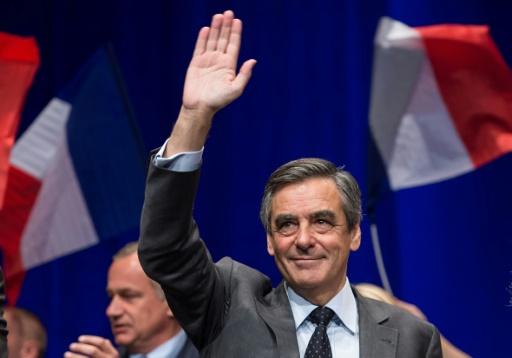 François Fillon en meeting le 9 novembre 2016 à Lille © PHILIPPE HUGUEN AFP/Archives
