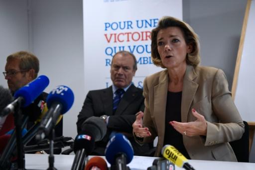 Anne Levade, présidente de la Haute Autorité pour la primaire, le 21 septembre 2016 à Paris © Eric FEFERBERG AFP