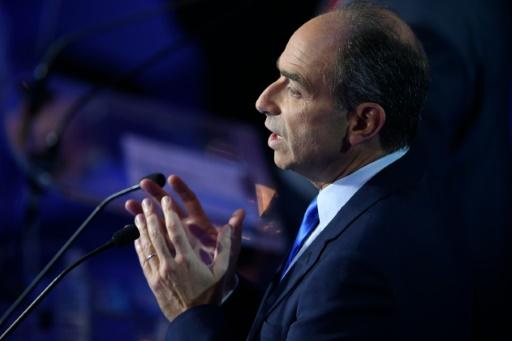 Jean-François Copé lors du second débat télévisé le 3 novembre 2016 salle Wagram à Paris © Eric FEFERBERG POOL/AFP/Archives