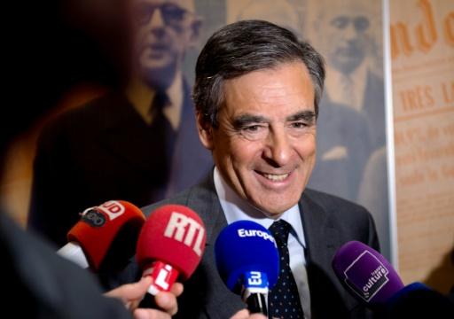 François Fillon le 9 novembre 2016 à Lille © PHILIPPE HUGUEN AFP/Archives