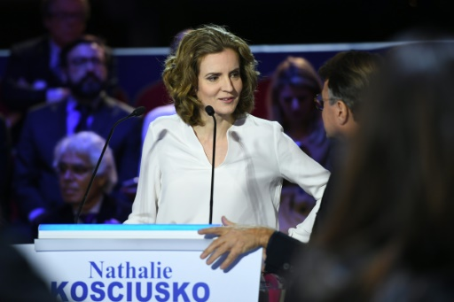 Nathalie Kosciusko-Morizet lors du second débat télévisé le 3 novembre 2016 salle Wagram à Paris © Eric FEFERBERG POOL/AFP/Archives