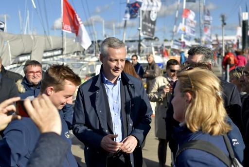 Bruno Le Maire le 5 novembre 2016 aux Sables-d'Olonne © LOIC VENANCE AFP/Archives