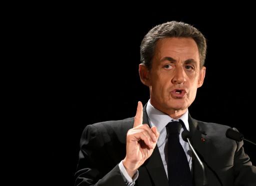 Nicolas Sarkozy en meeting le 7 novembre 2016 à Neuilly-sur-Seine © Eric FEFERBERG AFP/Archives