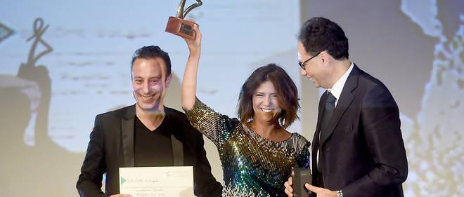 La jeune réalisatrice tunisienne Kaouther Ben Hania a remporté le 6 novembre dernier le Tanit d'or, principale récompense des 27e Journées cinématographiques de Carthage (JCC).