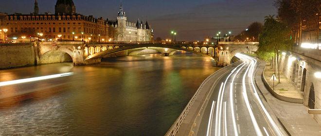 La fermeture de la voie Georges-Pompidou est effective depuis l'été.