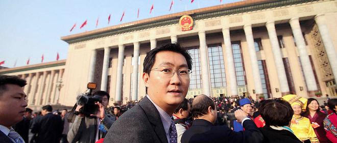 Stratège. Ma Huateng, surnommé «Pony Ma», PDG de Tencent, lors de la première Conférence consultative politique du peuple chinois de l'ère Xi Jinping, à Pékin, le 5mars 2013.