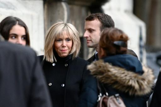 Brigitte et Emmanuel Macron le 10 novembre 2016 à Paris © MARTIN BUREAU AFP/Archives