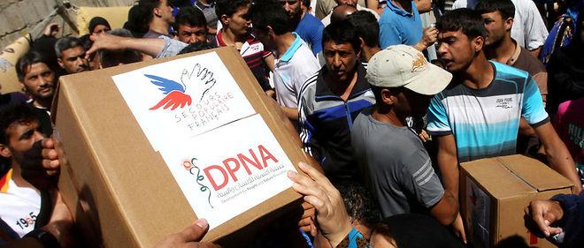 Récemment, l'ONU avait prévenu que les dernières rations alimentaires étaient en train d'être distribuées à Alep-Est.