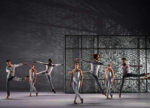"""Répétition de la """"Grande Fugue"""", le 15 novembre 2016 à l'Opéra de Lyon © PHILIPPE DESMAZES AFP"""