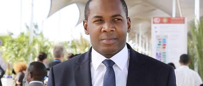 Le directeur général de l'Agence d'études et d'observations spatiales (AGEOS),Tanguy GahoumaBekale.