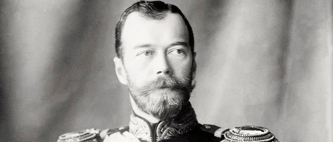Une photographie du dernier tsar de Russie, Nicolas II.