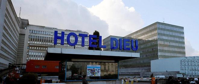 Le centre hospitalier de Nantes.