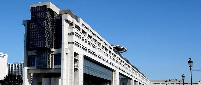 Le ministère de l'Économie, des Finances et de l'Industrie à Bercy.