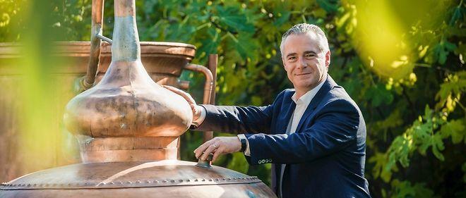 Jean-Sébastien Robicquet, PDG de la Maison Villevert, entreprise de production de spiritueux.