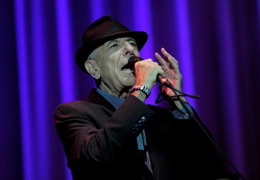 Le chanteur Léonard Cohen à Barcelone le 3 octobre 2012 © Josep Lago AFP/Archives