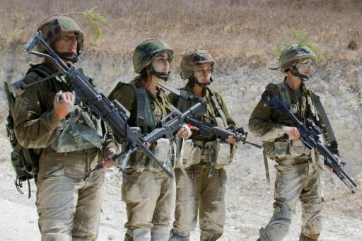 Des soldates de l'armée israélienne à Yoqne'am Illit le 13 septembre 2016 © JACK GUEZ AFP/Archives
