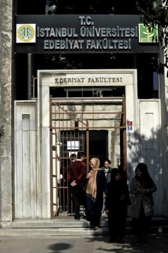 Le bâtiment Arts et sciences de l'université d'Istanbul le 20 octobre 2014 © OZAN KOSE AFP/Archives