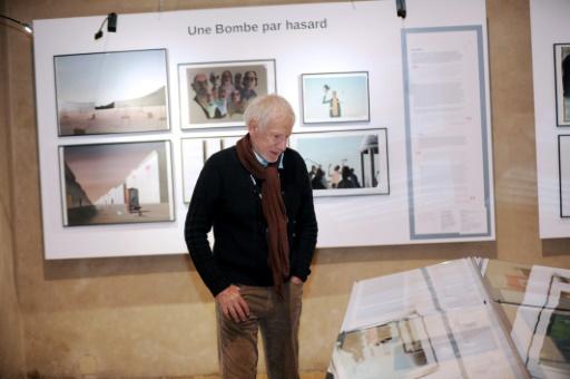 Jean-Francois Laguionie le 16 juin 2016 dans une pièce dédiée à son travail pendant le Festival international du film d'animation à Annecy  © JEAN-PIERRE CLATOT AFP/Archives